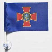 Флаг Национальной Гвардии на присоске в автомобиль