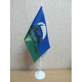 флаг ВДВ разведка на подставке