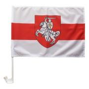 флаг Погоня автомобильный на флагштоке