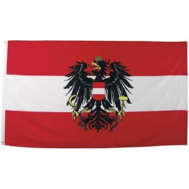 Флаг Австрии с гербом