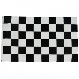 Флаг клетчатый гоночный финиш