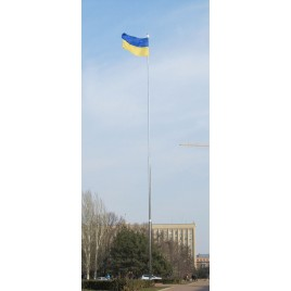 Флаг Украины 6,3х4,2 метра флажная сетка самый большой флаг