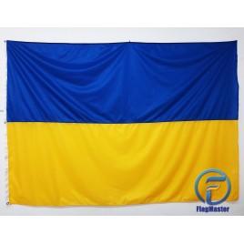 Флаг Украины 200х135см флажная сетка