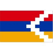 Флаг Нагорно-Карабахской Республики Арцах