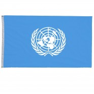 Флаг ООН 150х90 см