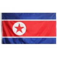 Прапор Північної Кореї