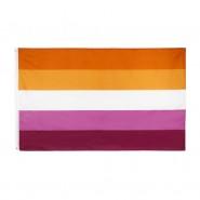 Флаг лесбийский 5 полос