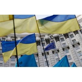 Флаг Украины с удочкой (комплект)
