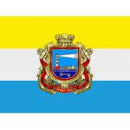 Флаг города Черноморск (Ильичевск)