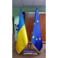 Флаг ЕС кабинетный