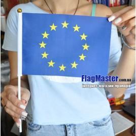 Флажки Евросоюза на палочке