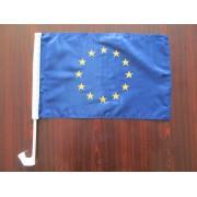 флаг Евросоюза автомобильный