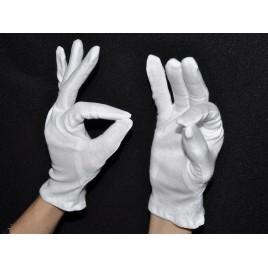Перчатки тонкие хлопковые