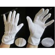 Перчатки официантов с точкой на ладоне