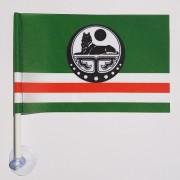 флаг Ичкерии на присоске в авто в машину
