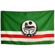 Флаг Ичкерии с волчицей