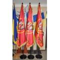 флаг кабинетный, атлас, двухполотнянный