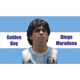 Флаг Диего Марадона