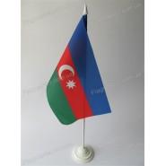 флаг Азербайджана на подставке