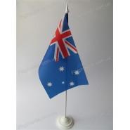 прапор Австралії на підставці