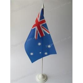 флаг Австралии на подставке