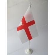 прапор Англії на підставці