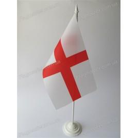 флаг Англии  подставке