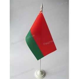 флаг Белоруси на подставке