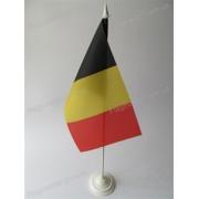 флаг Бельгии на подставке