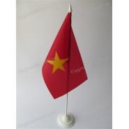 флаг Вьетнама на подставке