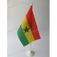 флаг Ганы на подставке