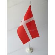 прапор Данії на подставці