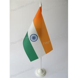 флажок Индии на подставке