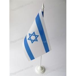 флаг Израиля на подставке