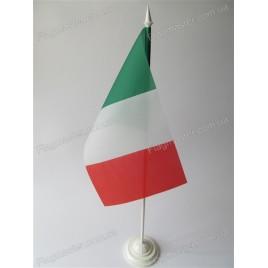 прапор Італі на підставці