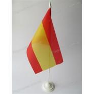 прапор Іспанії на підставці