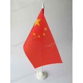 флаг Китая на подставке