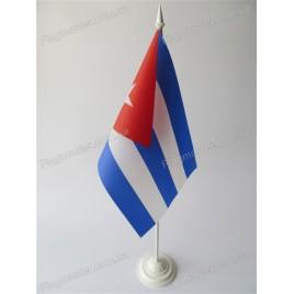 флаг Кубы на подставке