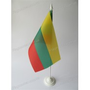 флаг Литвы на подставке