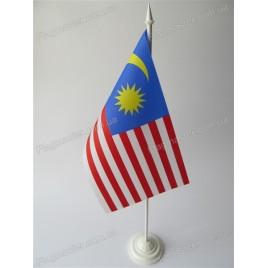 флаг Малайзии на подставке