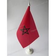 флаг Марокко на подставке