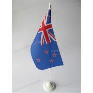 прапор Нової Зеландії на підставці