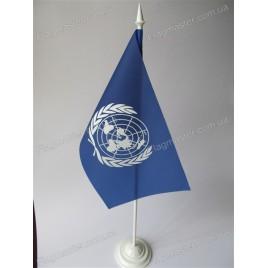 прапор ООН на підставці купити