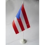 флаг Пуэрто-Рико на подставке