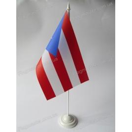 прапор Пуерто-Рико на підставці купити