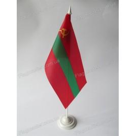 флаг Приднестровья на подставке
