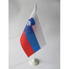 прапор Словенії на підставці купити