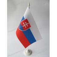 прапор Словаччини на підставці