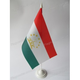 флаг Таджикистана на подставке
