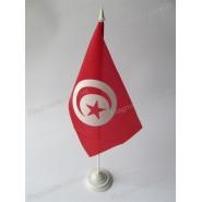 флаг Туниса на подставке